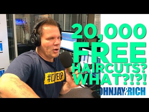 In-Studio Videos - 20,000 FREE Haircuts? How Is That Possible?