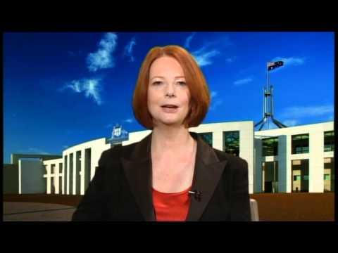 PM Julia Gillard's Earth Hour Commitment