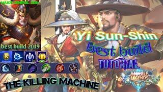 YI SUN SHIN INSANE DAMAGE BUILD!!! THE KILLING MACHINE - Mobile Legends Bang Bang