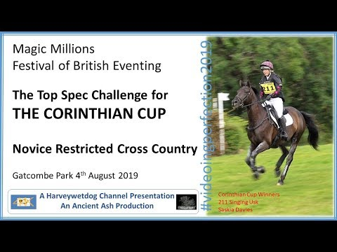 Festival Of British Eventing 2019: Corinthian Cup Cross Country