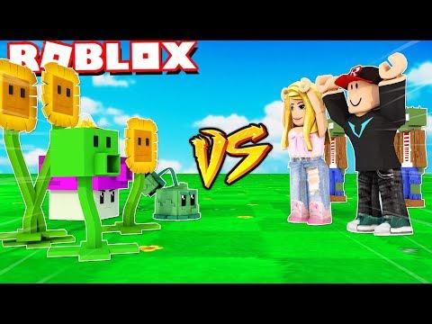 PLANTS VS ZOMBIES W ROBLOX! Vito vs Bella