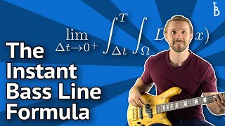 Bass Lines In Minutes - A 'Plug-And-Play' Formula