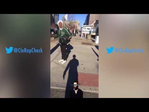 Cleveland Rapper Lil Duke Gets in Intense Conversation with OPP #CleRapCheck