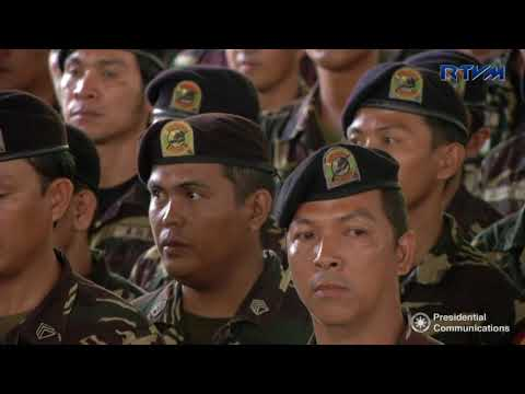 Visit to Camp General Teodulfo Bautista (Speech) 12/1/2017