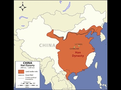a comparison of chin and han dynasties in china