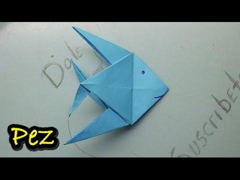 15 origami pez de papel paso a paso origami fish