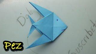 # 15 Origami pez de papel paso a paso ( origami - fish paper )