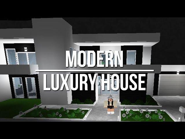 Roblox Welcome To Bloxburg Modern Luxury House 76k