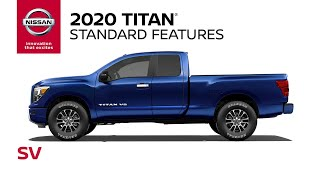 homepage tile video photo for 2020 Nissan Titan SV Walkaround & Review