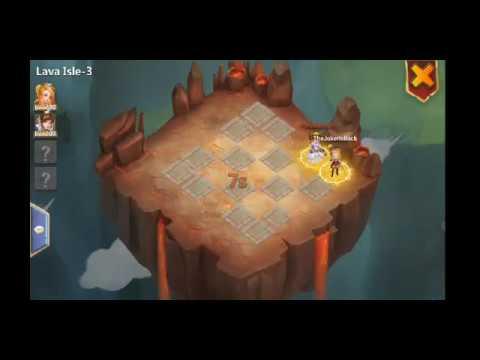 Castle Clash 2 Man Lava 3 Easy