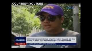 Menorca: Iglesia ni cristo leadership wanted me killed (Death Squad)