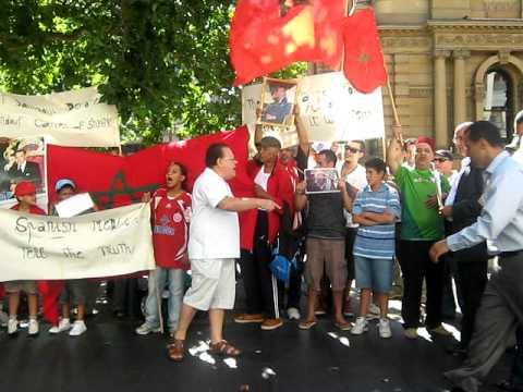 Western Sahara Moroccans' protest - Sydney