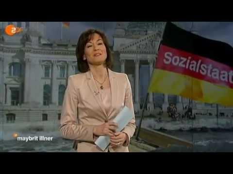 maybrit illner: Wie gerecht ist Deutschland? - ZDF (1/5)