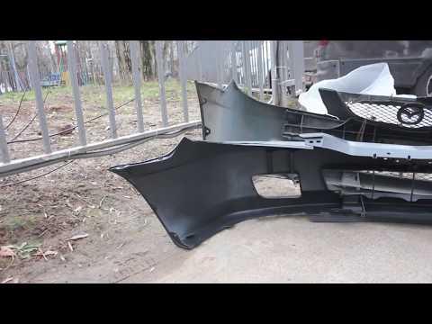 Mazda Protege BJ (323) - Замена битого бампера и решетки