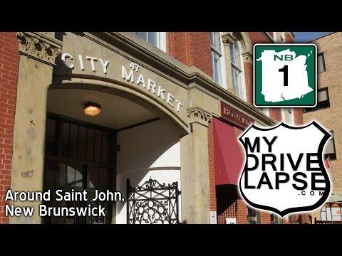 A Dashcam Tour of Saint John, New Brunswick