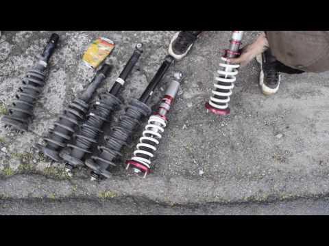 tsx suspension installation: Vlog