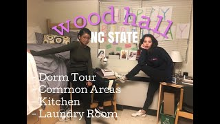 Wood hall room + amenity tour l gnsfor anyone planning on coming to ncsu, check out this and see what it looks like for yourself. be t...