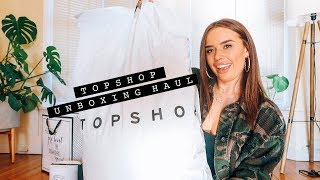 GETTING MY HAIR DONE + TOPSHOP UNBOXING HAUL | Hello October Vlogtober