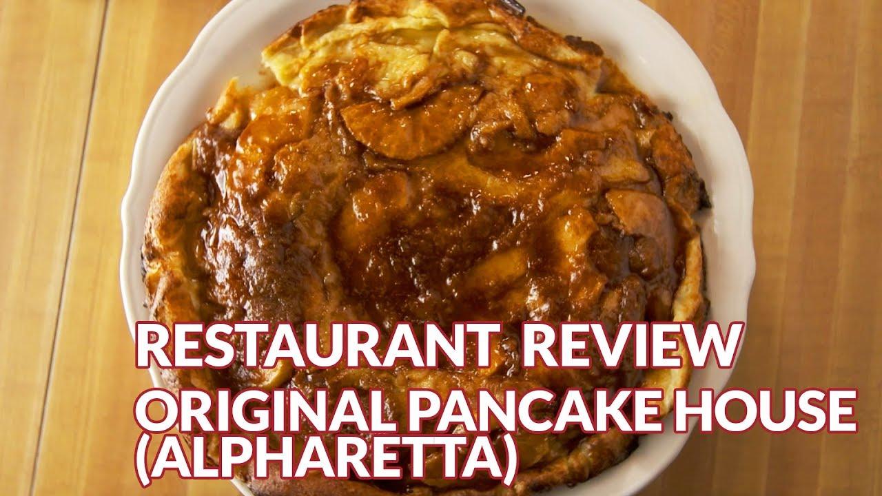 Restaurant Review The Original Pancake House Atlanta Eats