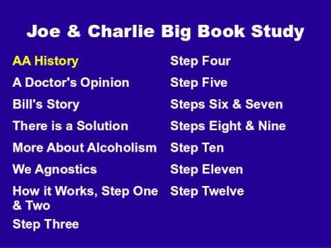 Aa joe & charlie workshops & big book step study for android apk.