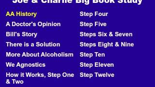 Joe & Charlie Big Book Study Part 1 of 15 - AA History