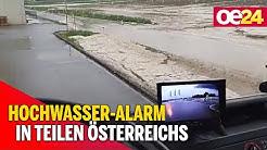 Wetter: Hochwasser-Alarm in Teilen Österreich