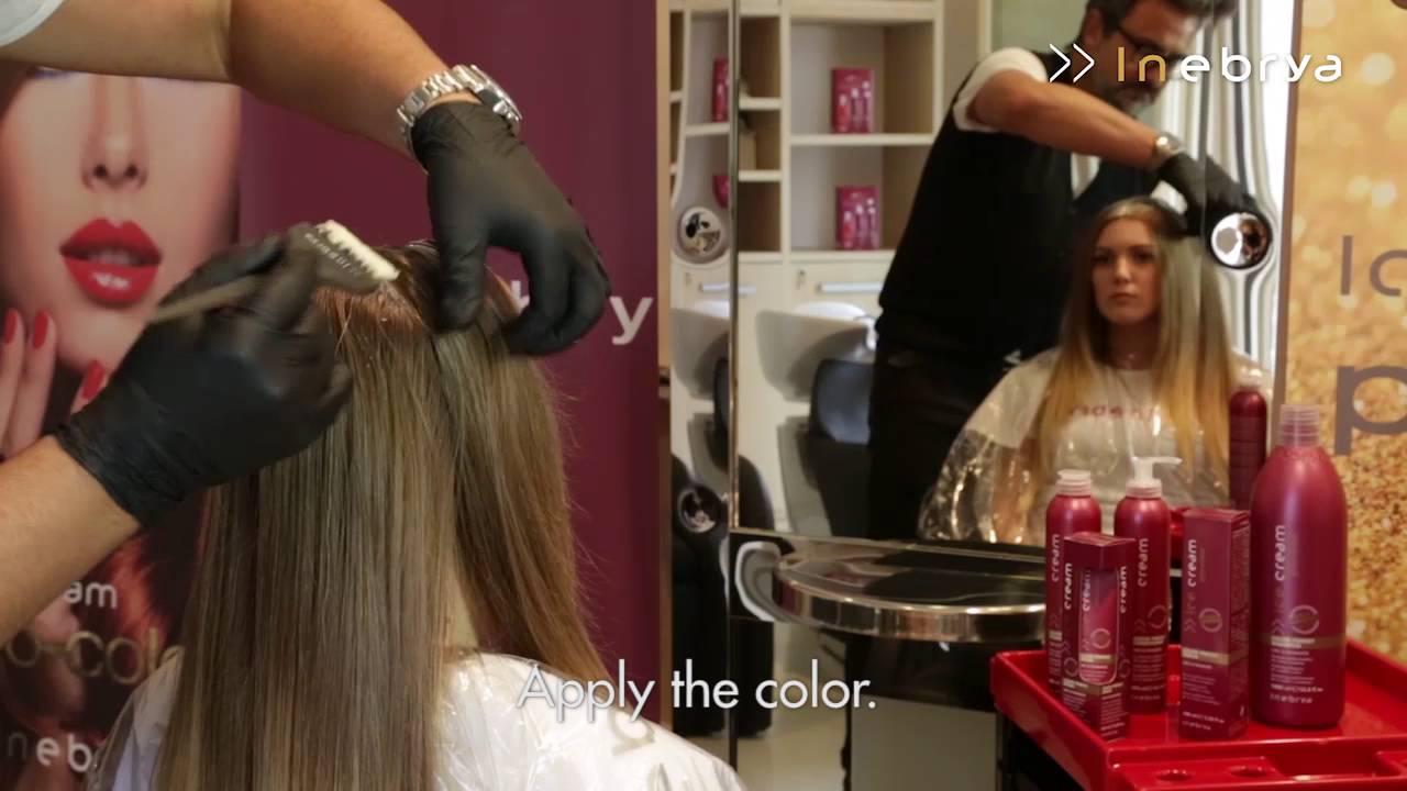 Ice blonde hair dye | temporary hair colour | l'oréal paris.