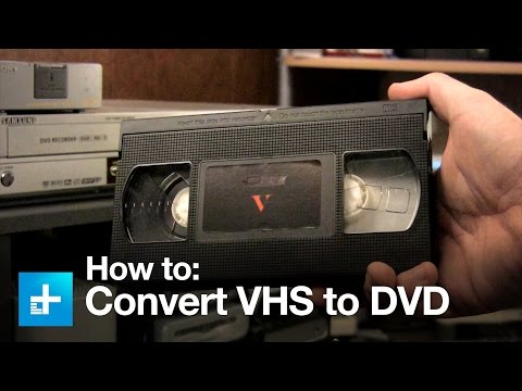 How To Convert VHS Tapes To DVDs