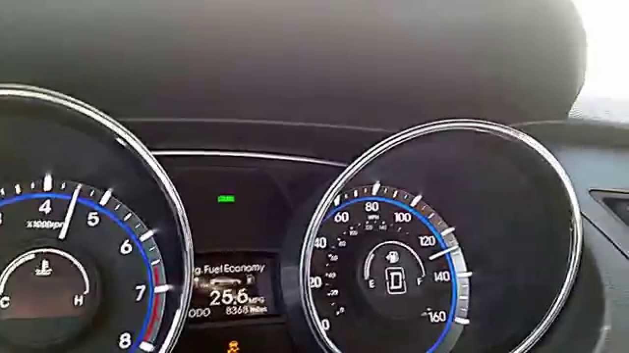 2014 Hyundai Sonata 2 4l 0 Top Speed Youtube