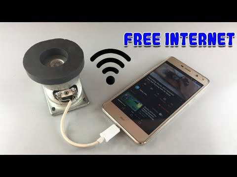 Free-Internet-100-Generator-Using-Magnets-At-Home-2019
