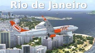 [FSX] Santos-Dumont (Rio de Janeiro) - DIFFICULT APPROACH