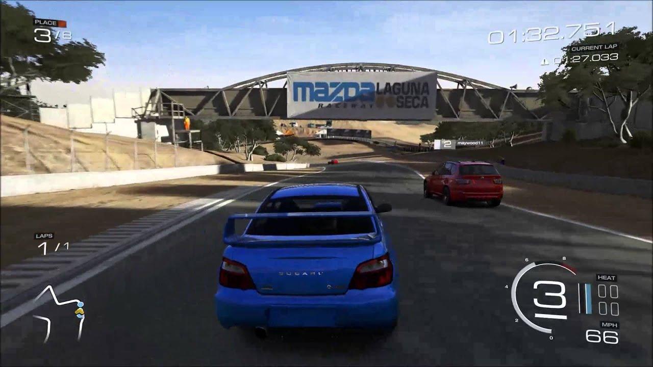 Forza 5 2004 subaru impreza wrx sti on laguna seca gameplay youtube vanachro Choice Image