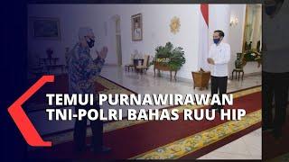 Presiden Jokowi Temui 14 Purnawirawan TNI-Polri Bahas RUU Haluan Ideologi Pancasila
