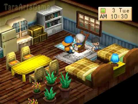 Harvestmoon : Back to Nature - Walkthrough (HQ) - PART 2
