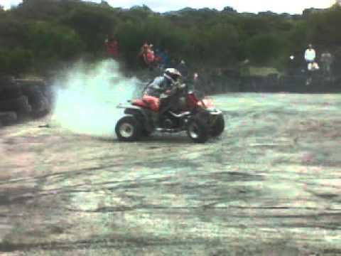 Banshee Burnout Drift Kyle Johannes Cape Town Quad Squad