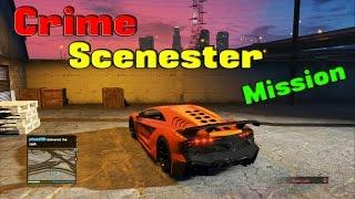 GTA 5 Online Mission: Crime Scenester (Grand theft Auto Online)