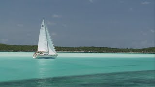 Bahamas Dream Sailing with Distant Shores