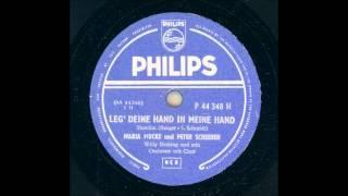 MARIA MUCKE UND PETER SCHEEBEN - LEG DEINE HAND IN MEINE HAND