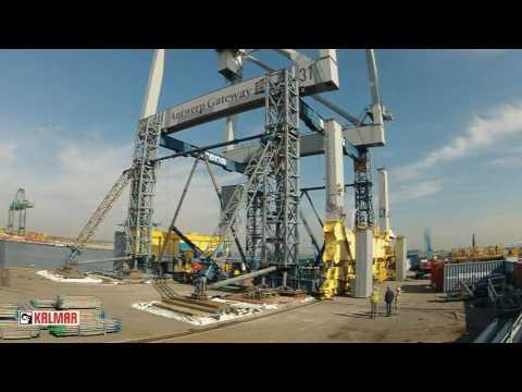 Crane Heightening at Antwerp Gateway 2015