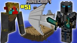 Minecraft: INSANE MONKEY SHIP ATTACKER CHALLENGE [EPS6] [51]