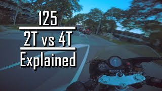 125cc 2T vs 4T explained [Eng sub] - |Mopedlyfe|