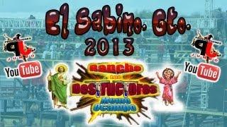 LOS DESTRUCTORES EN EL JARIPEO DE FIESTA DEL SABINO 2013.