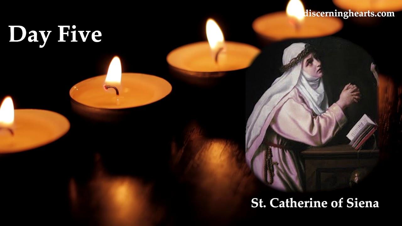 Novena to St. Catherine of Siena - Day Five - YouTube