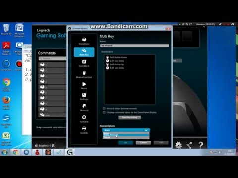 Logitech G 402 Macro Mouse Tutorial all weapon
