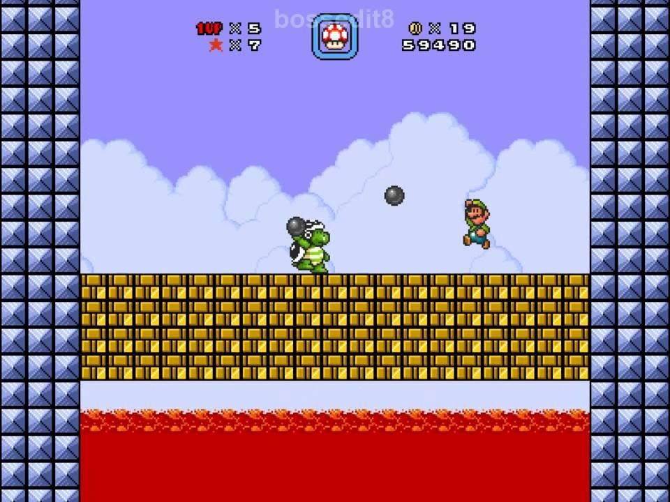 Super Mario Bros  X (SMBX) - That One Arena playthrough