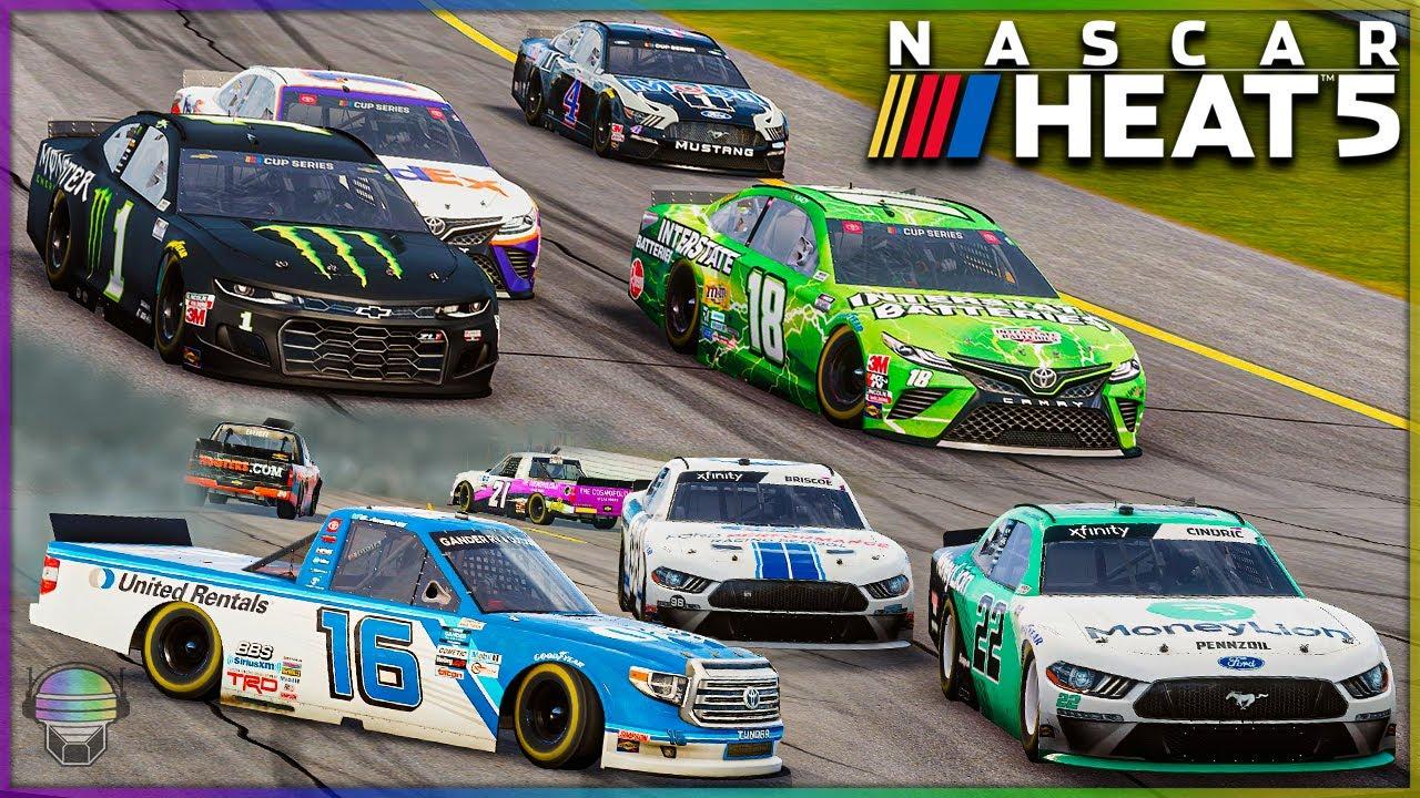 Download ALL Paint Schemes/Tripleheader at Pocono! | NASCAR Heat 5