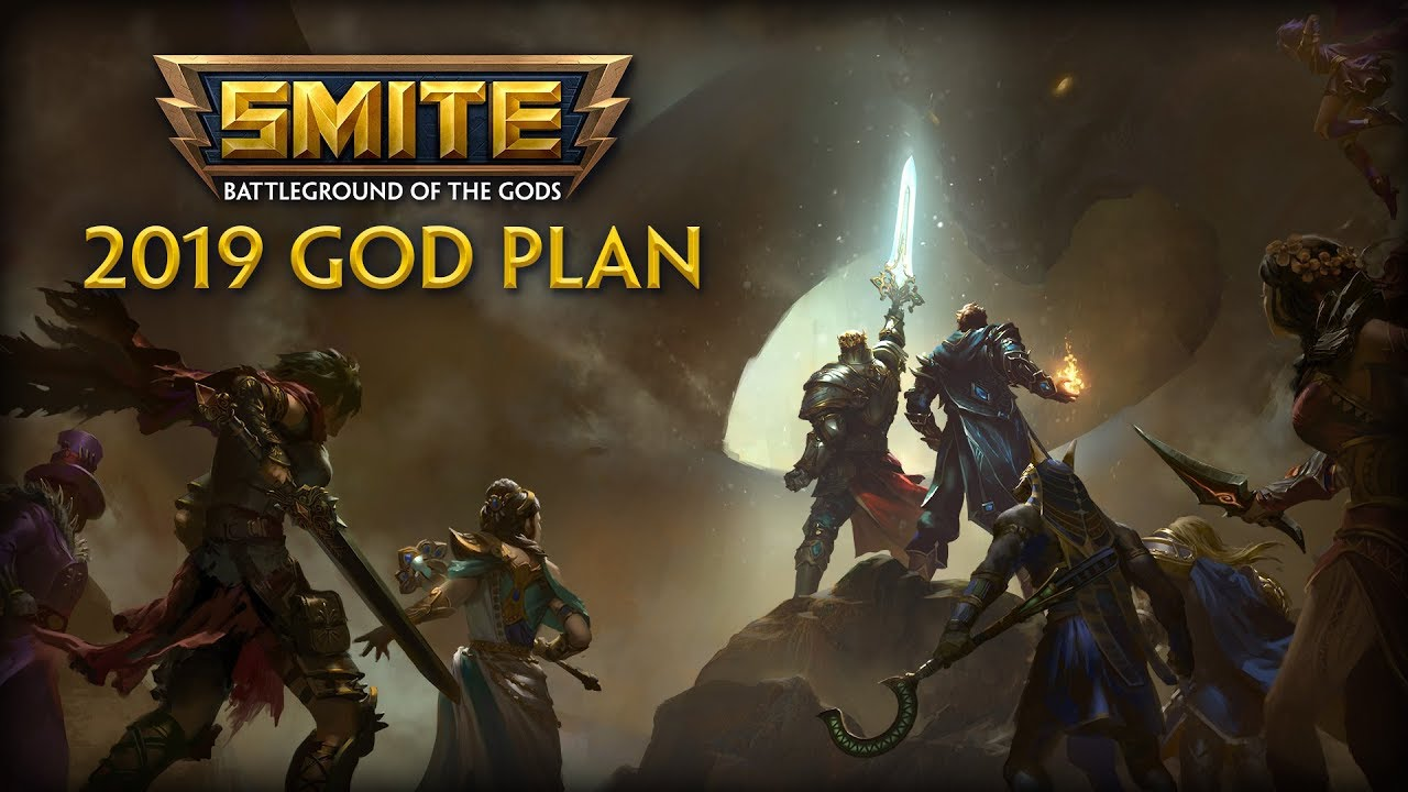 Best Smite Gods 2019 SMITE   Sneak Preview   2019 God Plan   YouTube
