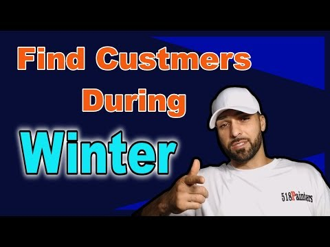 How To Stay Busy In The Winter As A Painting Contractor