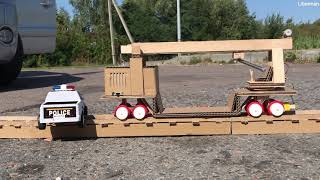 How to Make Railway Maintenance Train