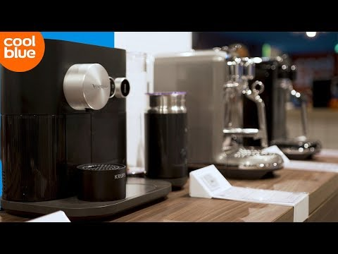 Welke soorten Nespresso apparaten zijn er?